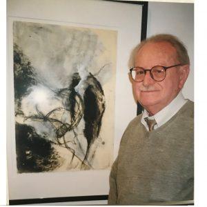 Clyde Ebert painting