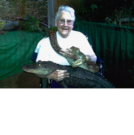 SQ PM grandma and snake and gater