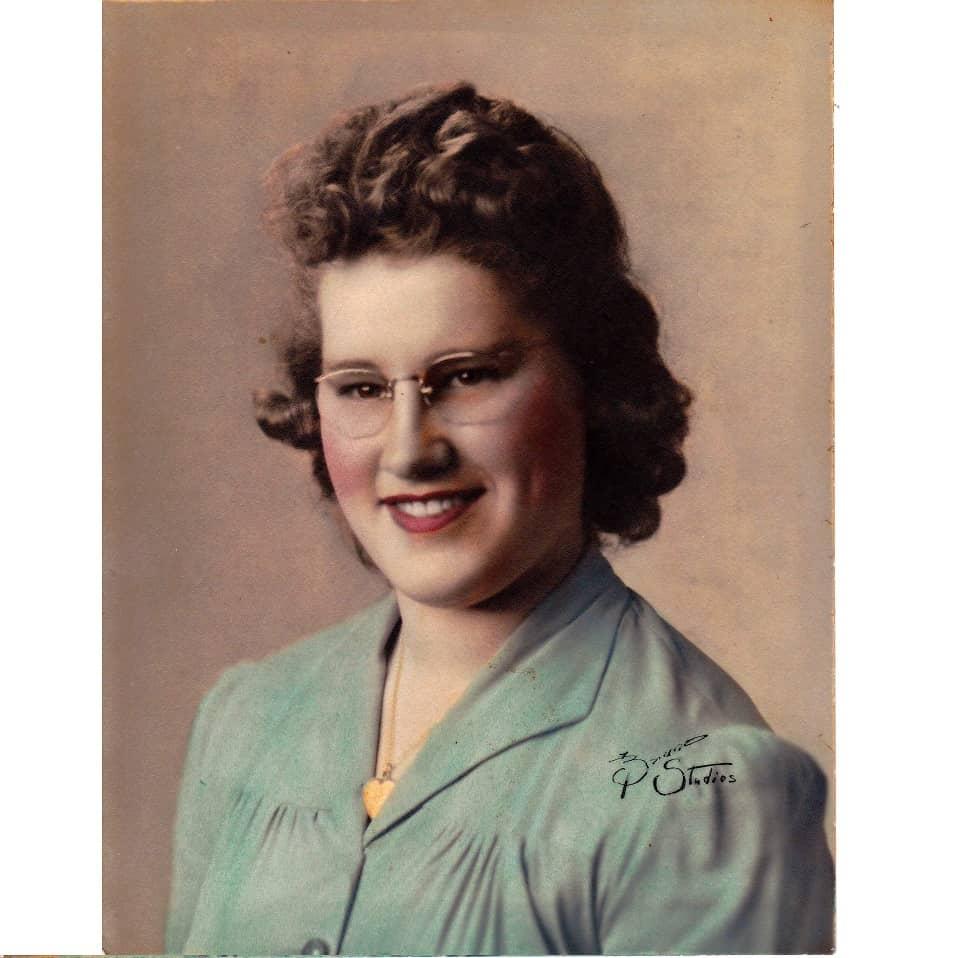 SQ PM grandma high school picture