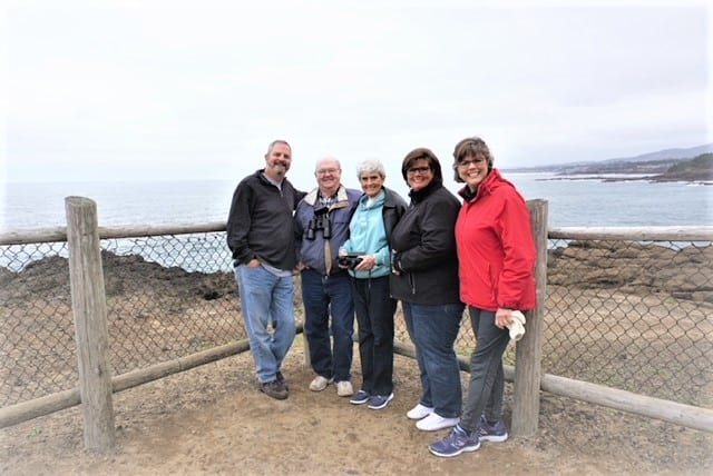 Family Oregon Beach