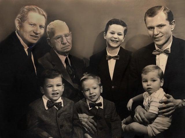 PM #5 Bob, sons ,dad, grandpa
