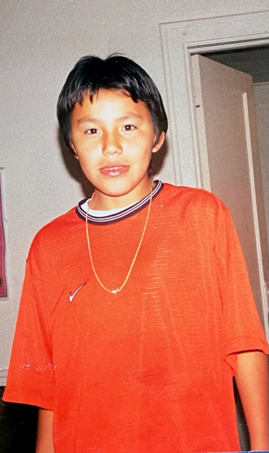 Nike orange shirt
